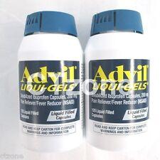 Advil Liqui-gels Ibuprofen 200 Mg. 240 Capsules