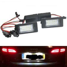 2x Error Free LED License Plate Light Lamp For Audi A4 B8 A5 S5 TT Q5 PASSAT R36