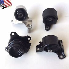 For 01-05 Honda Civic Acura EL 1.7 L Manual Transmission 4pc MT Engine Mount Set