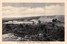 THETFORD MINES, QUEBEC, CANADA, BEAVER ASBESTOS MINE OVERVIEW, c. 1920-30's