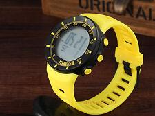 OHSEN Sport LED Digital Cool Running Smart Men Rubber Wrist Watches Yellow