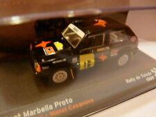 RES4 voiture 1/43 IXO altaya Rallye SEAT Seat Marbella Proto 1989 Rallye Tolède
