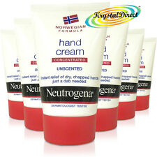 6x Neutrogena Norwegian Formula Concentrated Hand Cream Unscented 50ml
