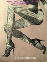 collant legging femme maille fantaisie noir gris marron TU victorine
