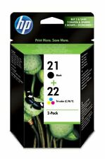 Genuine HP 21 Black (C9351AE) + HP 22 Tri-Colour (C9352AE)   FREE 🚚 DELIVERY