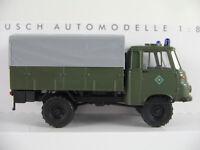 """Busch 51651 Robur LO 1801 A (1968) """"Bereitschaftspolizei (DDR)"""" 1:87/H0 NEU/OVP"""