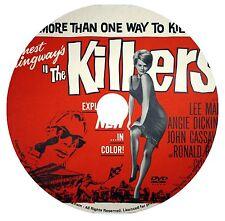 THE KILLERS (1964) LEE MARVIN, ANGIE DICKINSON & RONALD REAGAN FILM NOIR DVD
