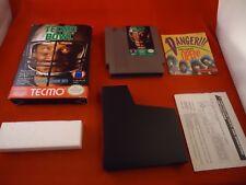Tecmo Bowl (Nintendo Entertainment System, 1989) NES Near Complete Box manual #H