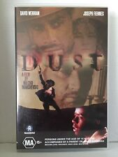 DUST ~ DAVID WENHAM & JOSEPH FIENNES ~ RARE PAL VHS VIDEO