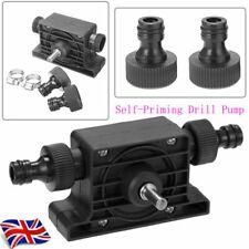 Portable Electric Drill Pump Self-Priming Transfer Pump Oil Fluid Water Diesel_+