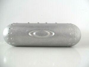 Oakley Vault Torpedo Bullet Silver Metal Sunglasses Glasses Case
