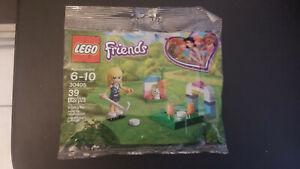Sealed Lego Friends 30405 Stephanie's Hockey Practice Polybag