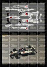 NASCAR 1/18 DECALS - 2020 IRACING #51 KYLE BUSCH ROWDY ENERGY INDY CAR