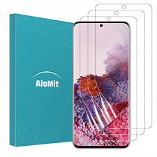 AloMit [3-Pack] Screen Protector for Samsung Galaxy S20 and S20 5G 6.2''[Support