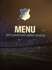 Menu UCL 2018/19 TSG 1899 Hoffenheim vs Manchester City # 1