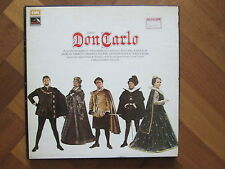 HMV SLS.956 Verdi - Don Carlos 4x LP Boxset -STEREO