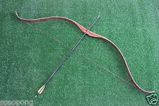 35lb Handmade Traditional Archery Recurve Bow Hunting Mongolia Horse Longbow