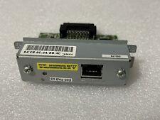 Epson UB-E03 LAN Ethernet Interfaces Card for TM Receipt Printer