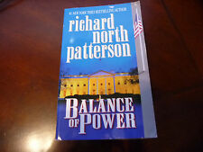 BALANCE OF POWER BY RICHARD NORTH PATTERSON A PAPER BOOK