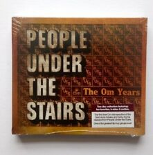 PEOPLE UNDER THE STAIRS THE OM YEARS CD 2 DISC HIP HOP NEW & SEALED