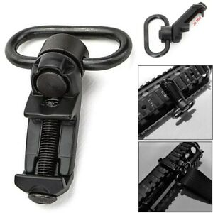 Tactical QD Sling Swivel Attachments 45 Degree Low Profile Picatinny Rail Mount