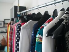 Vêtements sur mesure de stockage Rayonnages industriels échafaudage-Tube Mural Rail