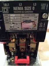 NEW Square D 8536SBO2V06 AC Magnetic Starter NEMA Size 0 Series A