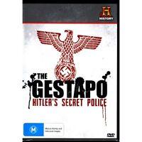 THE GESTAPO: HITLER'S SECRET POLICE DVD New Australian Release