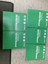 2000 CHEVY S-10 S10 Blazer Jimmy Envoy Sonoma Service Shop Repair Manual SET NEW