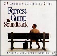 FORREST GUMP (2 CD) SOUNDTRACK ~ BOB SEGER~LYNYRD SKYNYRD~BOB DYLAN~BYRDS *NEW*