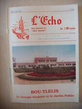 Algérie, Oran: Revue L'Echo de l'Oranie, N° 219: 03-04/1992, BE