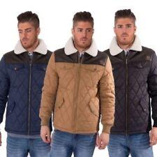 Cappotti e giacche da uomo parke con colletto pelliccia