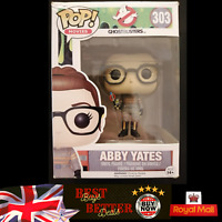 Funko Pop! Abby Yates 303 Ghostbusters BOX DAMAGE MINT VINYL FIGURE