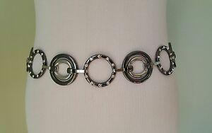 Style&Co metal chain waist belt size S/M  M/L