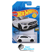 Hot Wheels '19 Mercedes-Benz A-Class (White) 2019 L Case #201 Factory Fresh 5/10