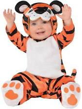 Baby Boys Tiny Tiger Fancy Dress Costume Infant Toddler Animal Jungle Outfit