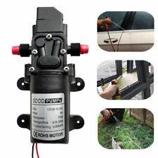 130psi High Pressure Electric Diaphragm Water Pump Self Priming 6lmin Dc12v 70w