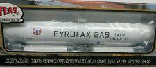 K&D SALE* Atlas 33,000 Gallon Tank Car PYROFAX GAS (SHPX) #17001 NIB