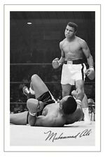 MUHAMMAD ALI Signed Autograph PHOTO Fan Gift Signature Print BOXING Cassius Clay
