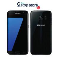 SAMSUNG S7 32GB BLACK 4G LTE SMARTPHONE SIM FREE UNLOCKED MOBILE PHONE -  G930F