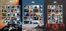 2015- 2017 Royal Mail Star Wars 3 x Smilers / Ultimate Collectors Sheets