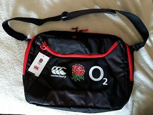 Canterbury England Rugby Staff/Player Issue Messenger/Laptop Bag New With Tag
