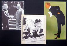 Churchill Postcards (3) NC1502