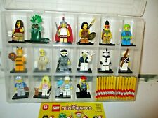 LEGO SERIES 10 Mini Figures - FULL SET of 16 MINI FIGURES (GENUINE LEGO) 71001