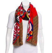 NEW Sold Out AUTHENTIC LOUIS VUITTON KABUKI STICKERS STOLE Reverse Scarf MP1941