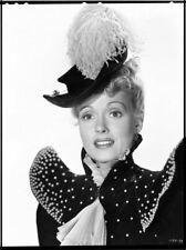 Martha Scott Vintage Studio Portrait Period Costume Original B/W Photo NEGATIVE