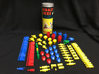 VINTAGE 1957 WHITMAN KRAZY IKES - 100+ Pieces, Original Canister, Instructions
