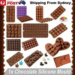 80 Styles Silicone Mould Cake Ice Tray Jelly Candy Cookie Chocolate Baking Mold