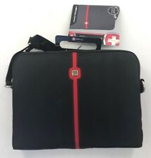 New Swissgear By Wenger Maya Netbook / iPad Sleeve Black/Red