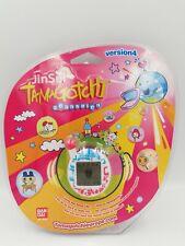 Tamagotchi Jinsei Connexion Version 4 White with Blue & Pink Design RARE New